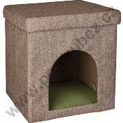 Pelíšek - kočičí domeček Luisa, 38 x 38 x 37 cm